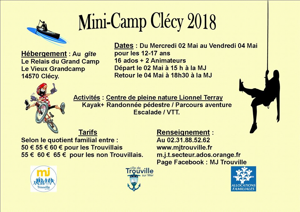 minicamp clecy